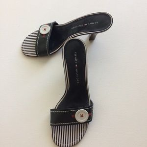 Tommy Hilfiger Signature Design Sandals Size 7.5